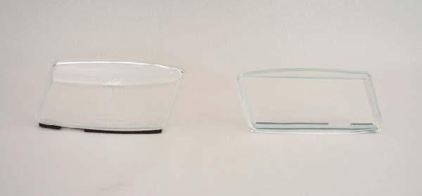 Strålkastarglas till Saab 900