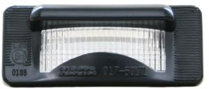 Nummerskyltsbelysning till Volvo 240