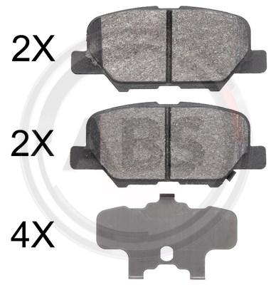 Bromsbelägg till Mazda 6 mfl