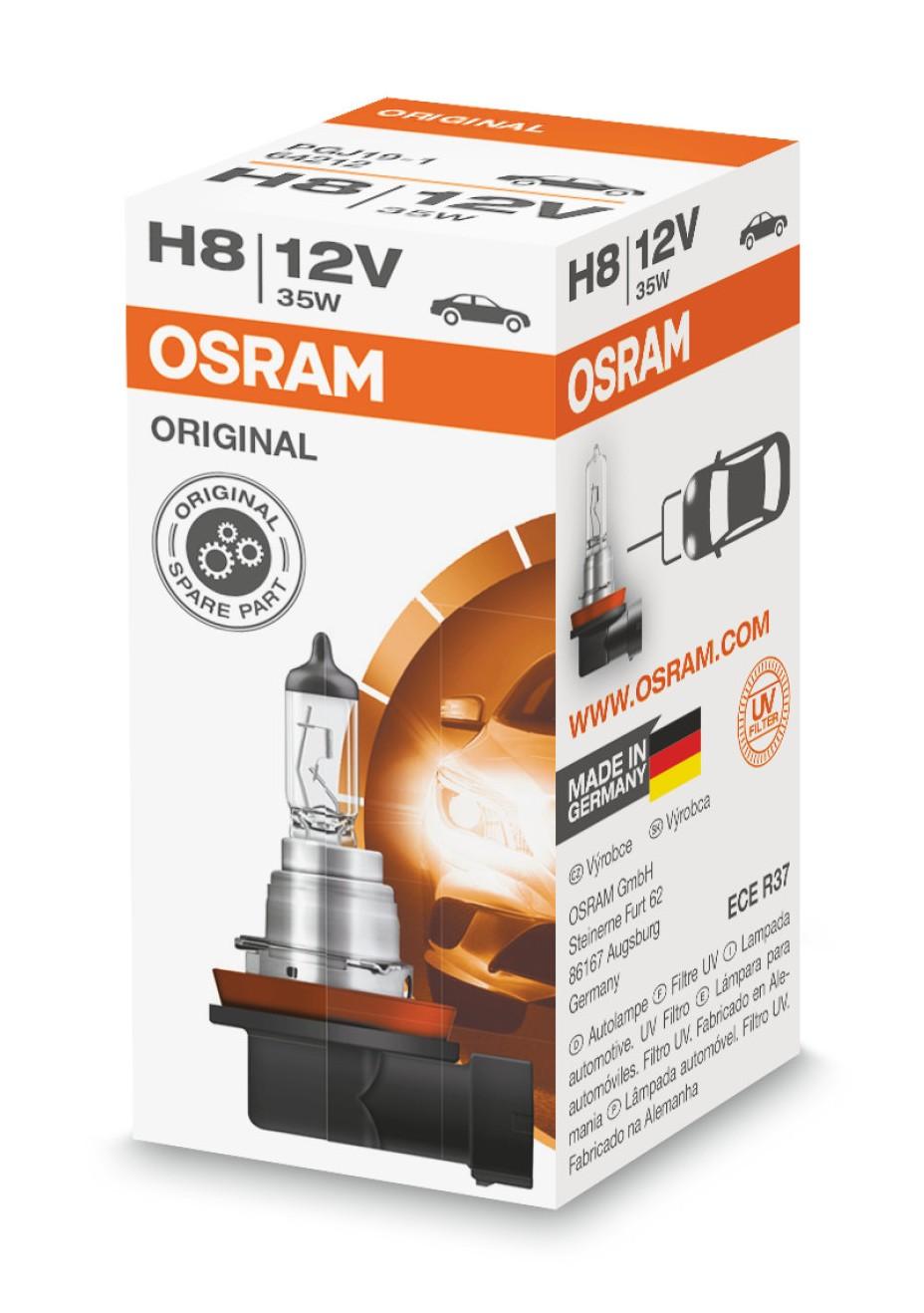 Halogenlampa H8 35W
