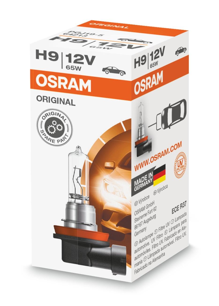Halogenlampa H9 65W