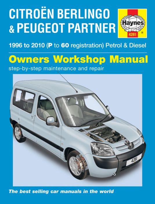 Reparationshandbok Citro 235 N Berlingo Peugeot Partner border=