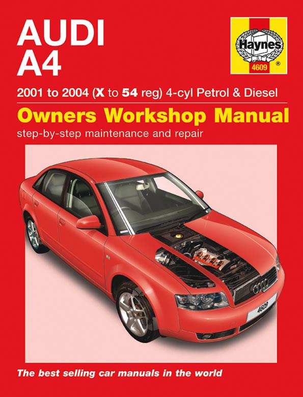 Reparationshandbok Audi A4 Rep En4609 Mekanika Se