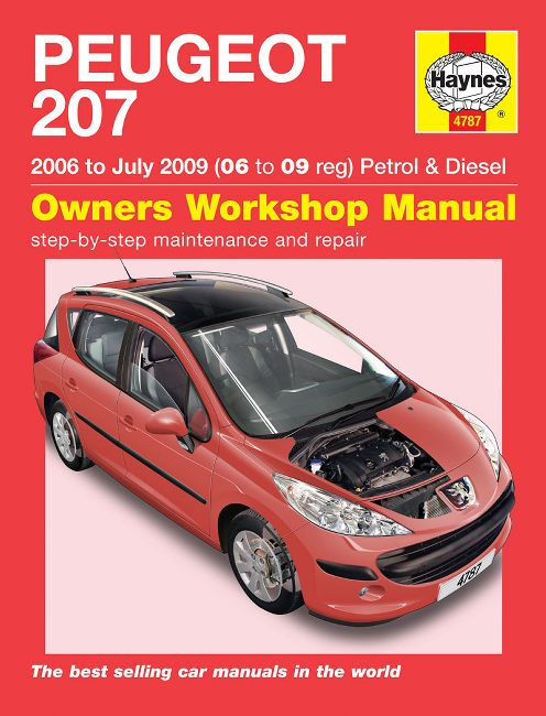 peugeot 308 workshop manual free download pdf