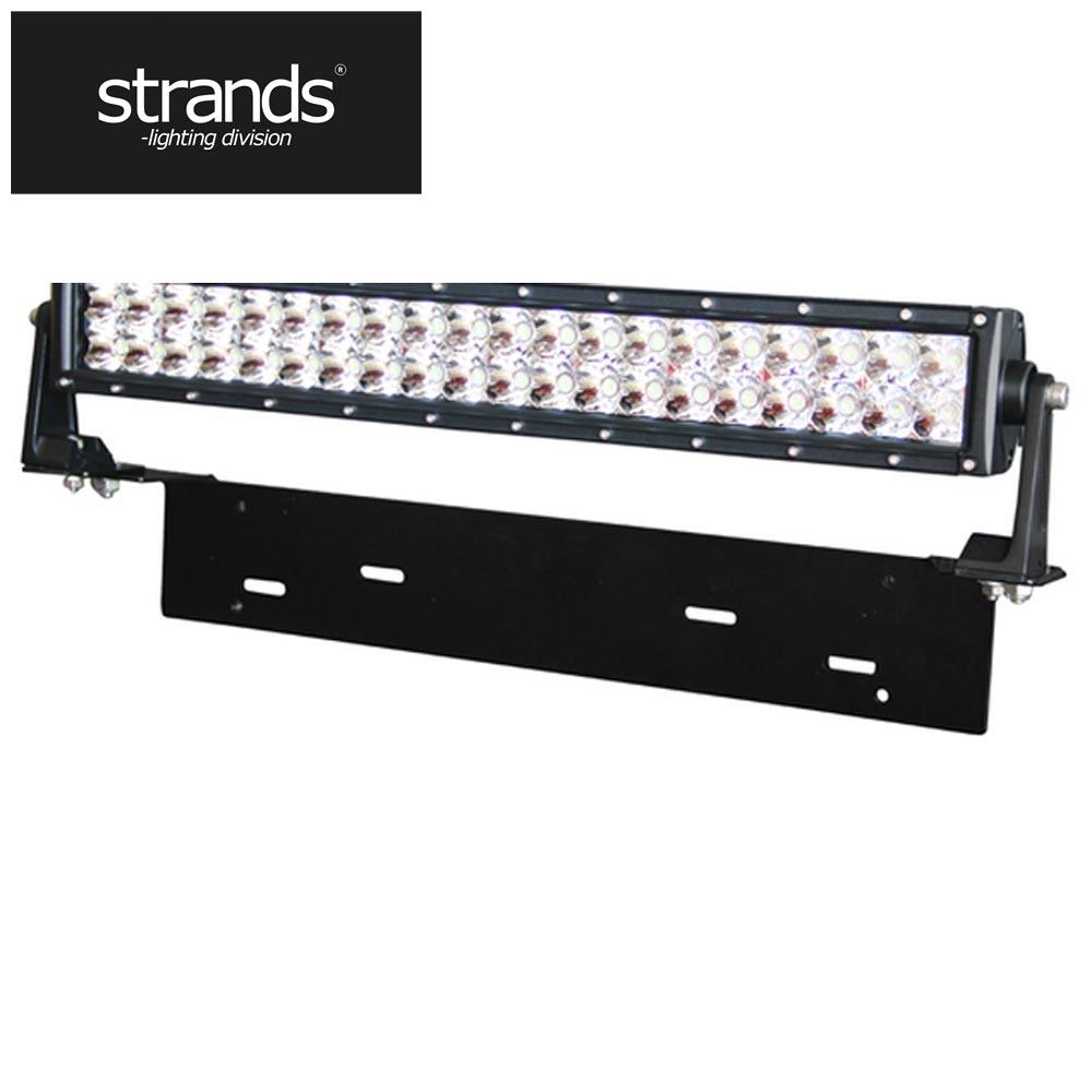 Extraljushållare för LED-ramp