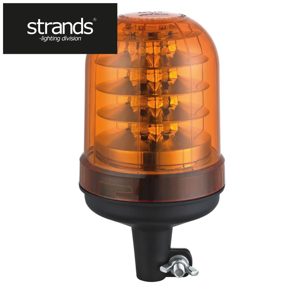 Strands Roterande LED-ljus Stångmontage