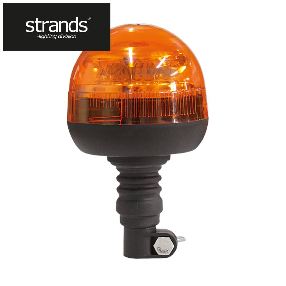 Strands Roterande LED-ljus Stångmontage Låg