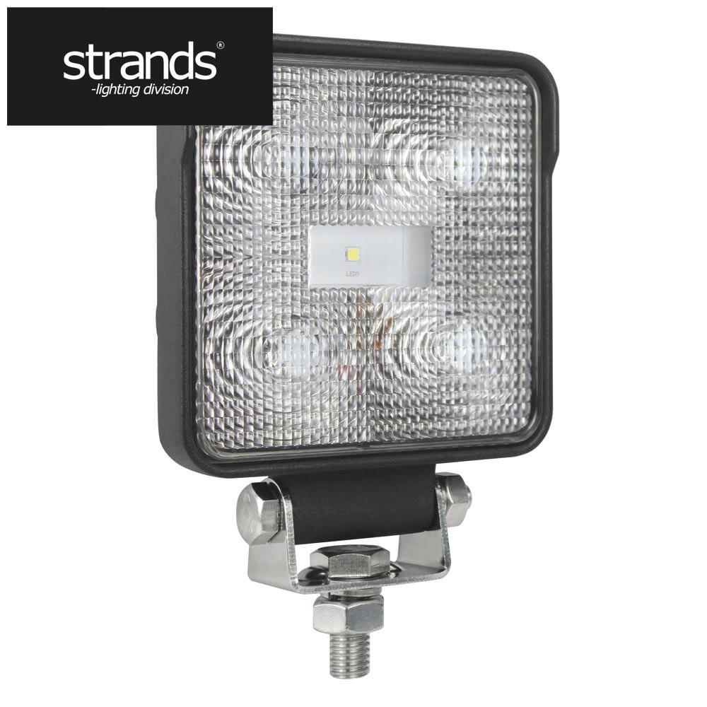 Strands Arbetslampa LED 9W