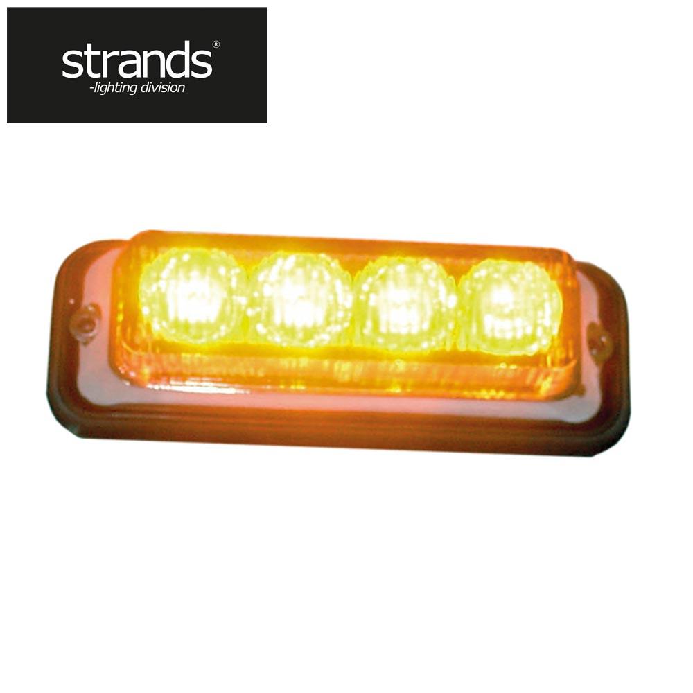 Strands Blixtljus 4 st LED