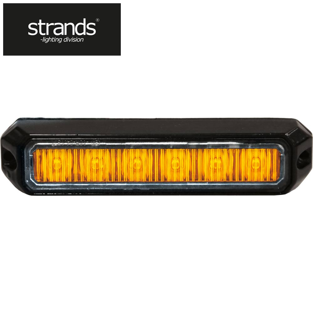 Strands Blixtljus Mini Orange 6 st LED