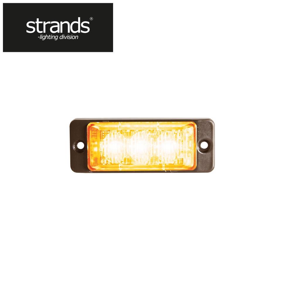 Strands Blixtljus Slim 3 st LED