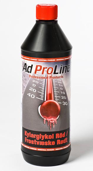 Glykol Röd 1 liter