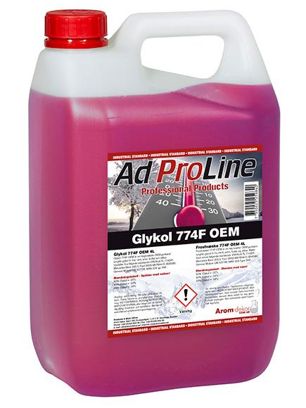Glykol Röd 4 liter