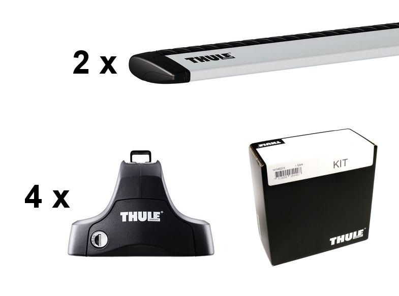 Thule Takräcke Kit till Honda Civic