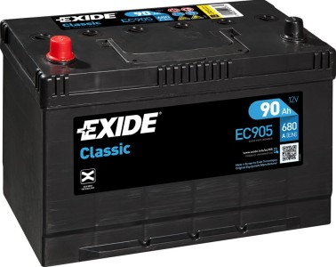Batteri Exide - BAT-TC905